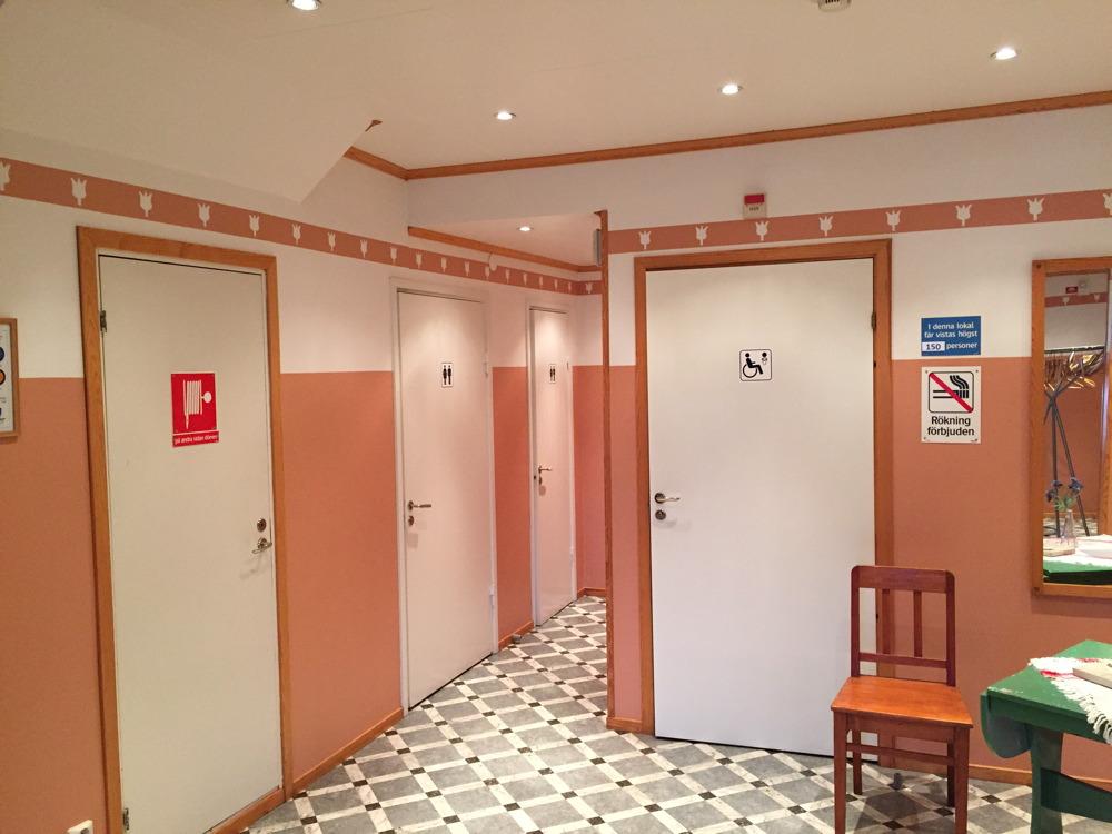 Toaletter stora hallen