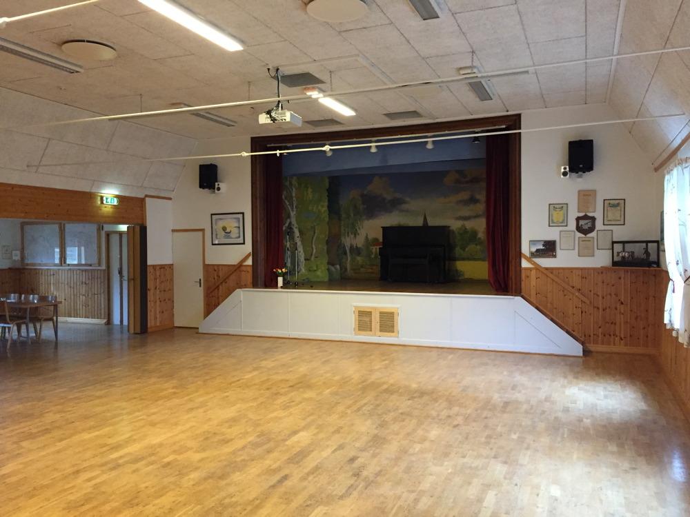 Stora salen med scen