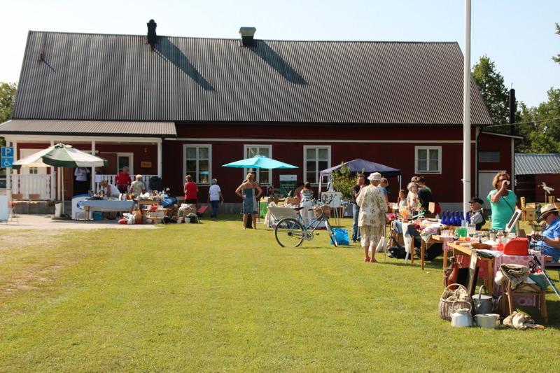 Hejde bygdegård mitt på Gotland